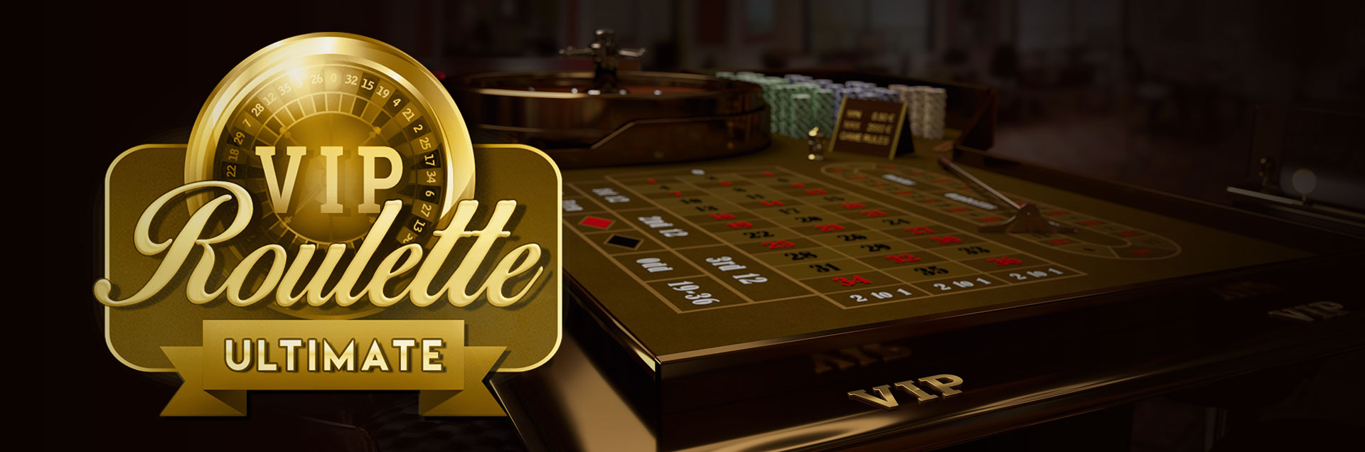 Roulette Ultimate vip logo