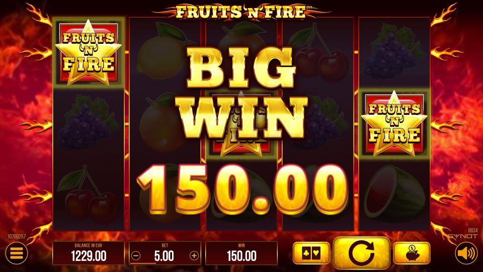 FruitsNFire bigwin