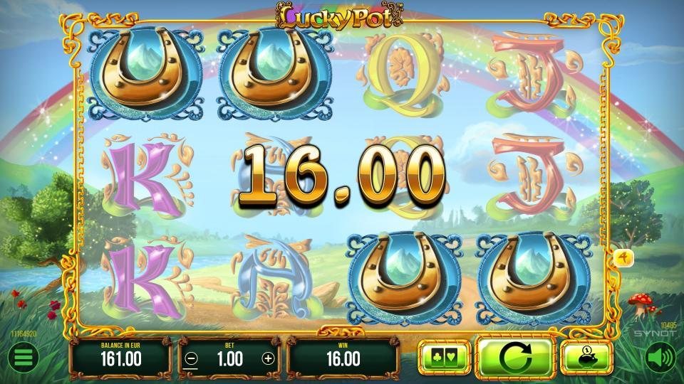 LuckyPot win
