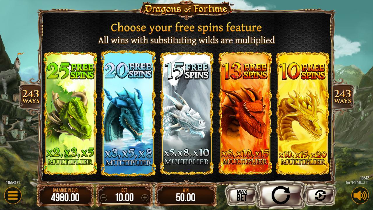 DragonsofFortune freespins