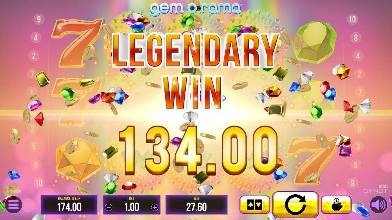 GemoRama legendarywin