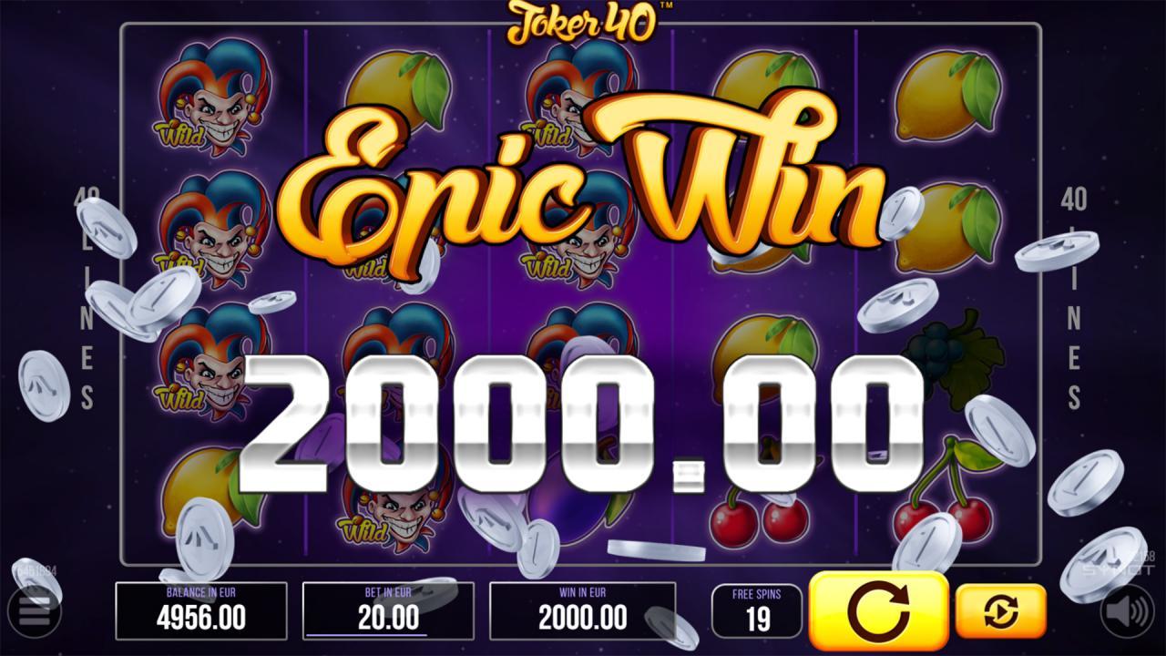 Joker40 Epic Win