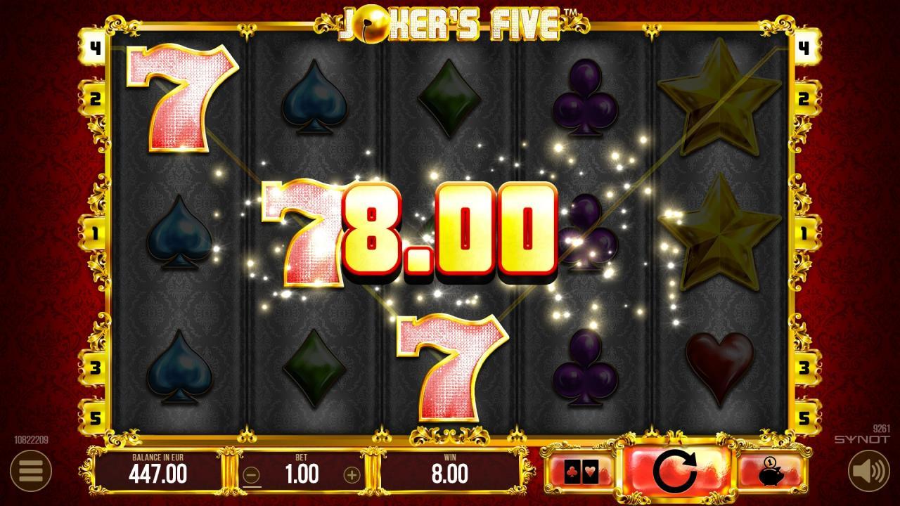 JokersFive win2