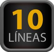 10 Líneas