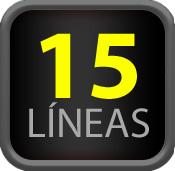 15 Líneas
