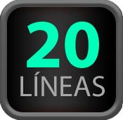 20 Líneas