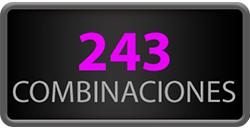 243 Combinaciones