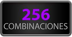 256 Combinaciones