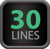 30lines
