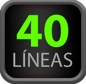 40 Líneas