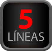 5 Líneas
