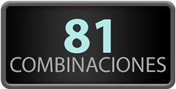 81 Combinaciones