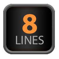 8 Lines
