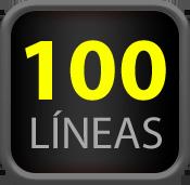 100 lineas