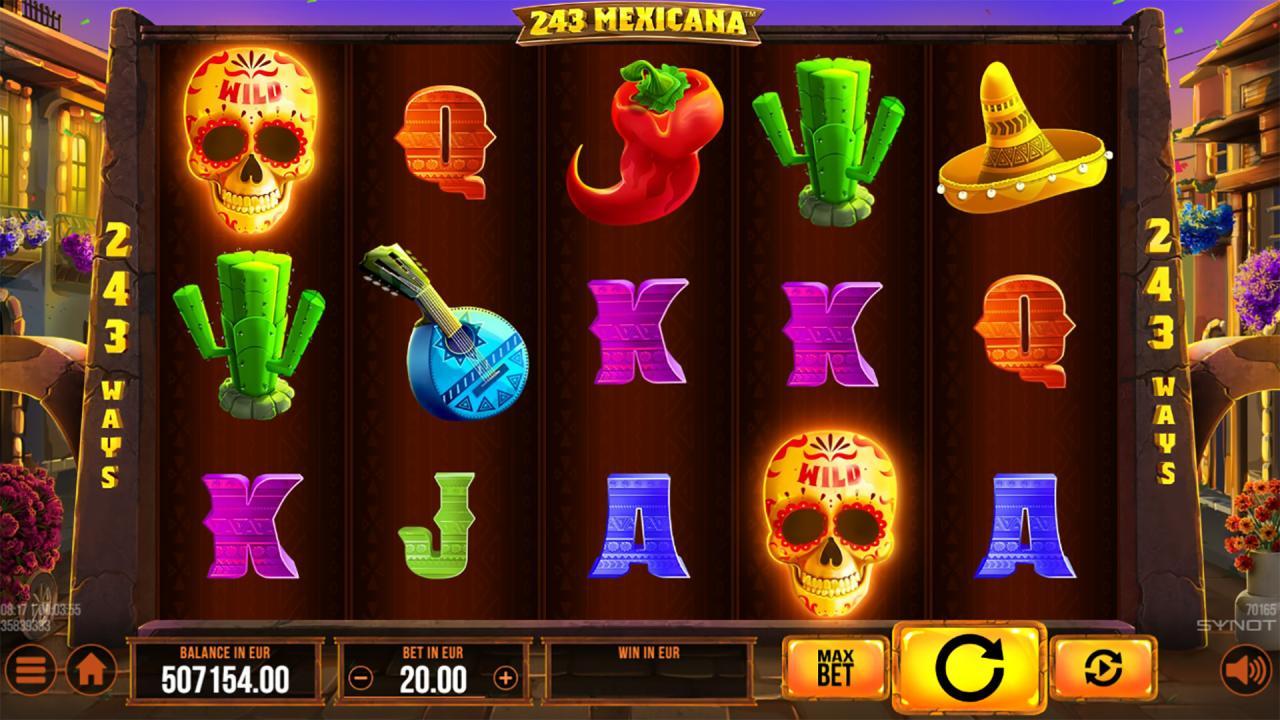 243 Mexicana reels