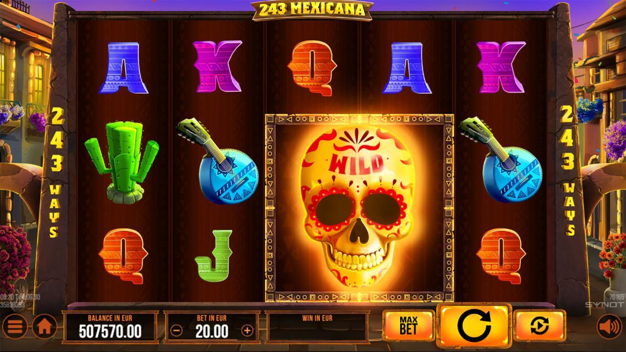 243 Mexicana wild symbol