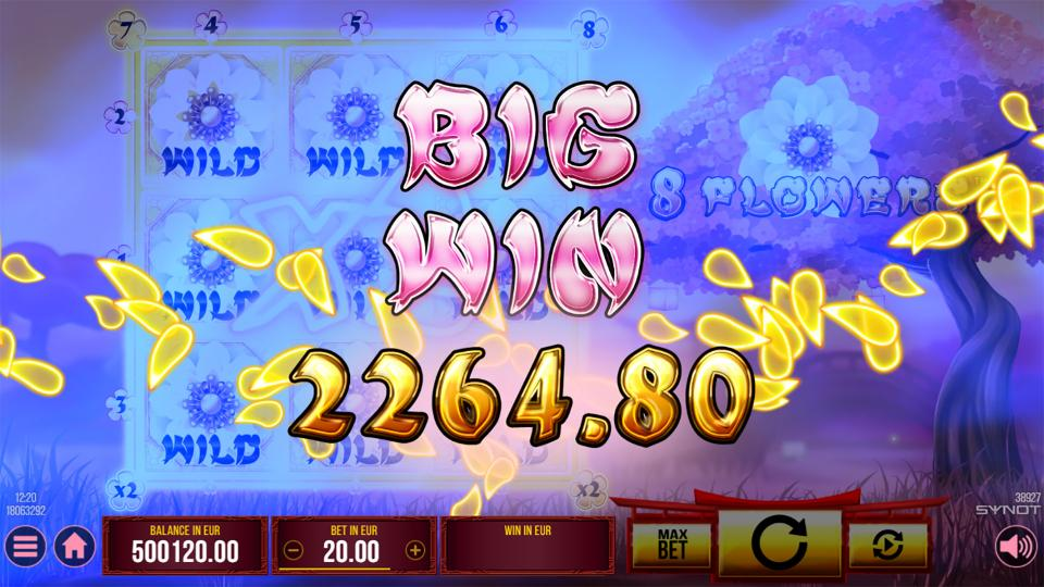 8 Flowers Big Win