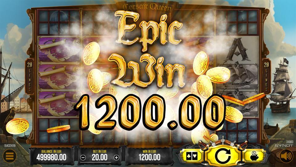 Corsair Queen Epic Win2