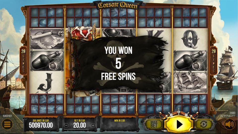 Corsair Queen FreeSpin