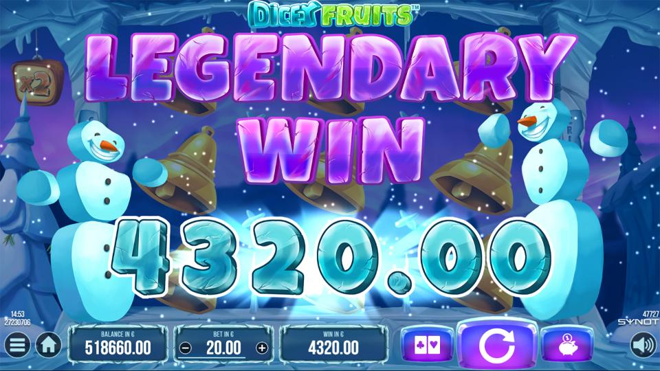 Dicey Fruits legendary win