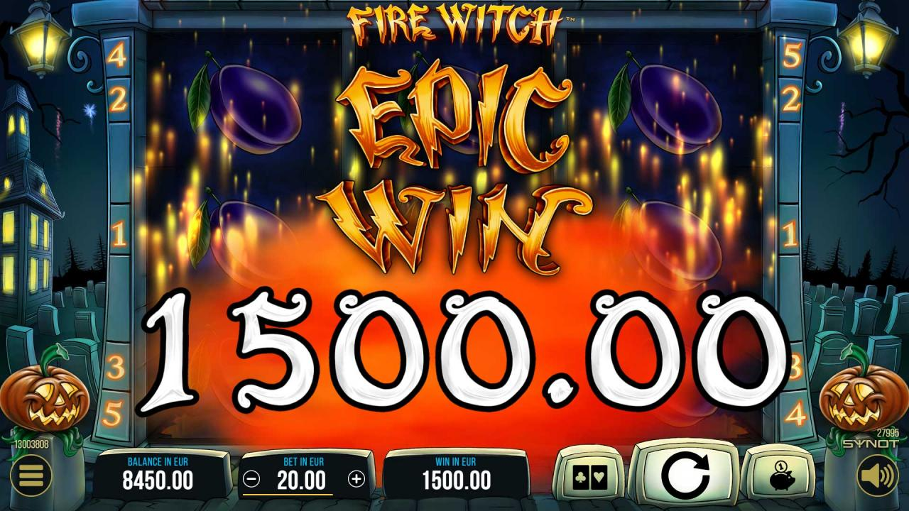 FireWitch Epic Win