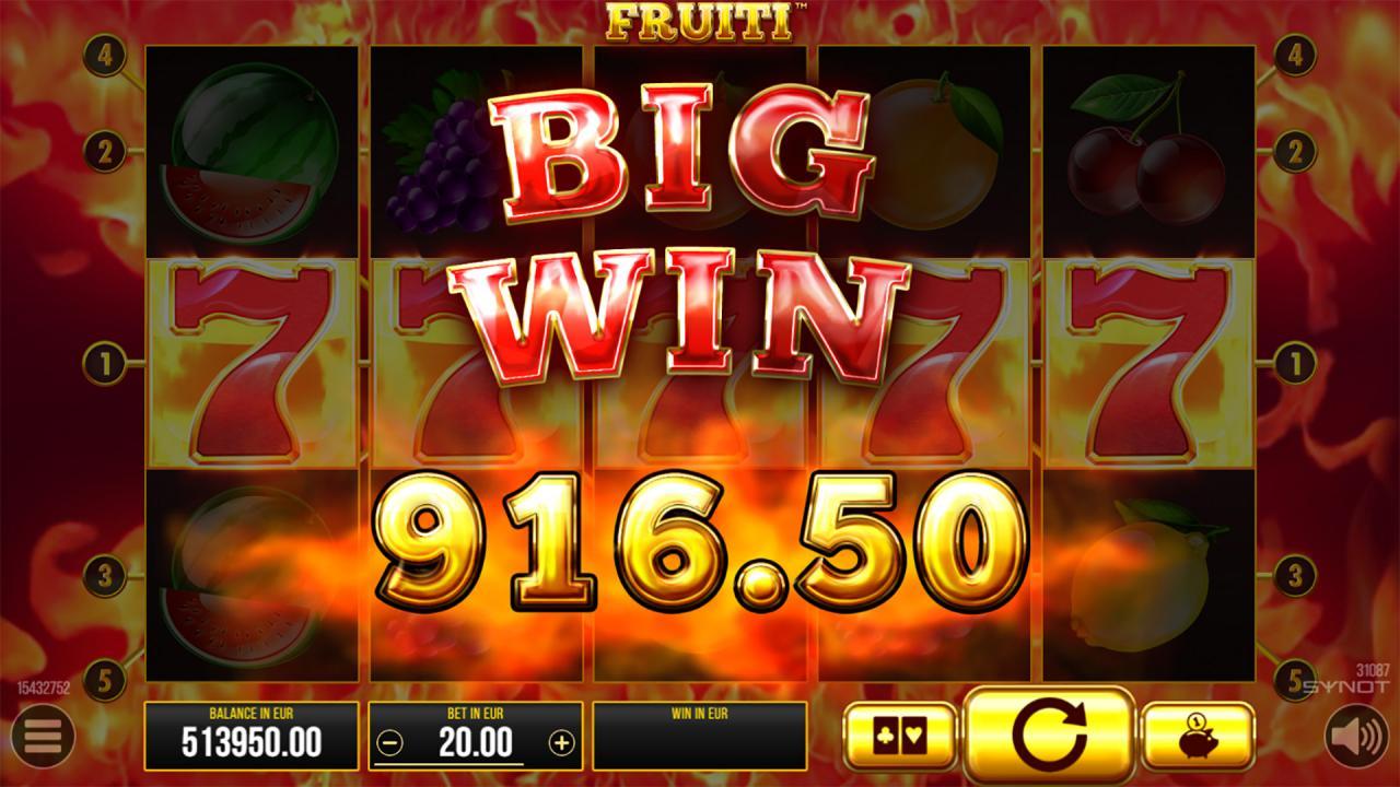 Fruiti Big Win