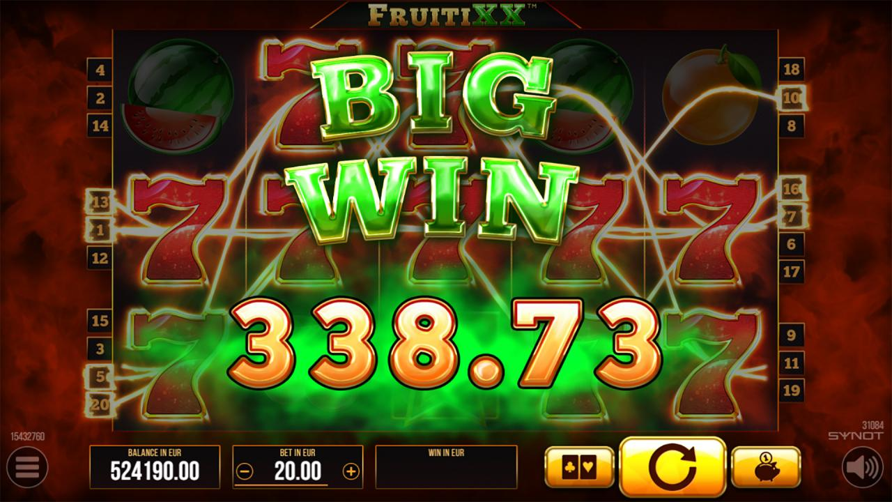 FruitiXX Big Win