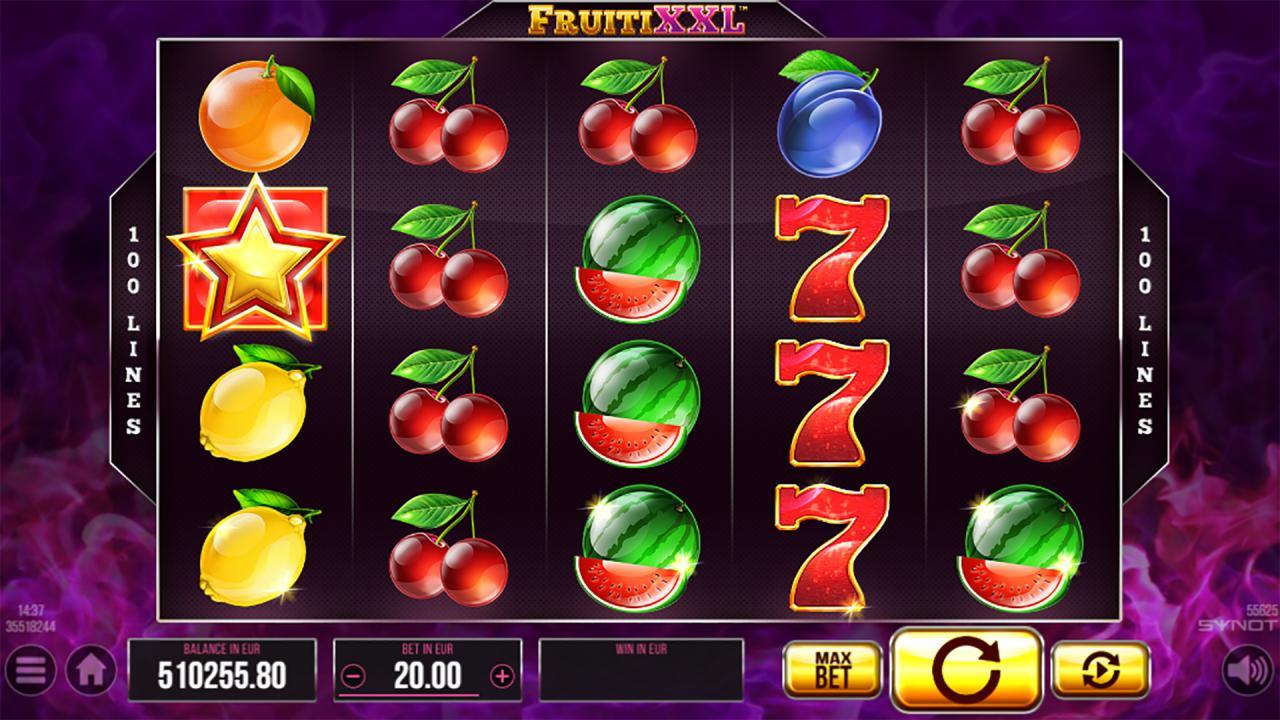 FruitiXXL reels 2
