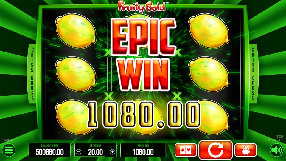 Fruity Gold Epic Win