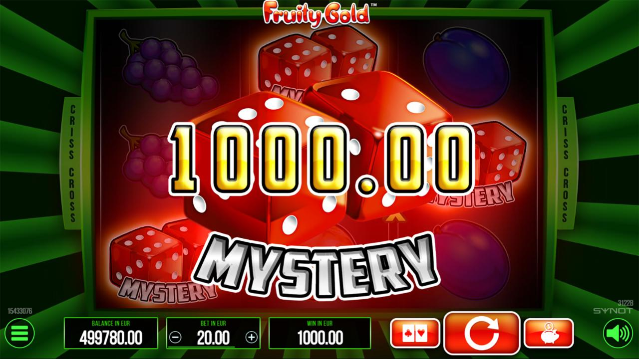 Fruity Gold Mystery Win
