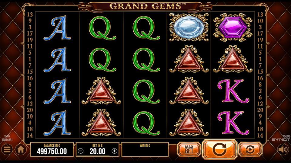 Grand Gems reels