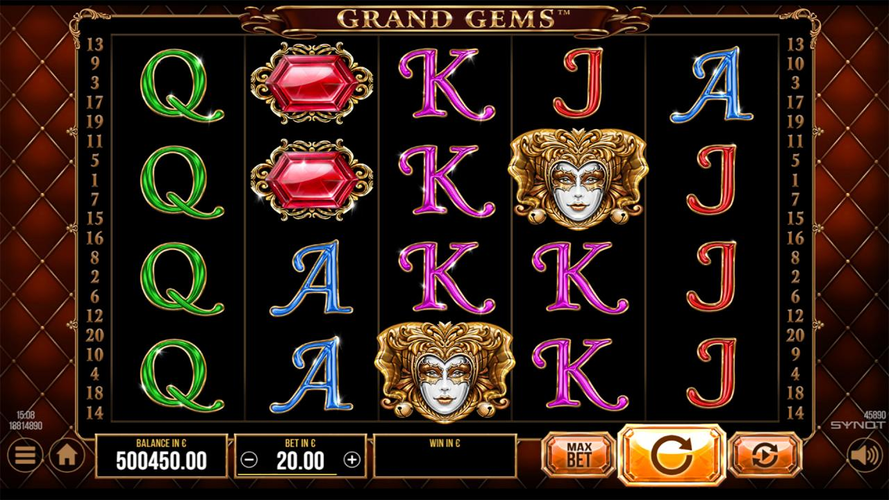 Grand Gems reels wild