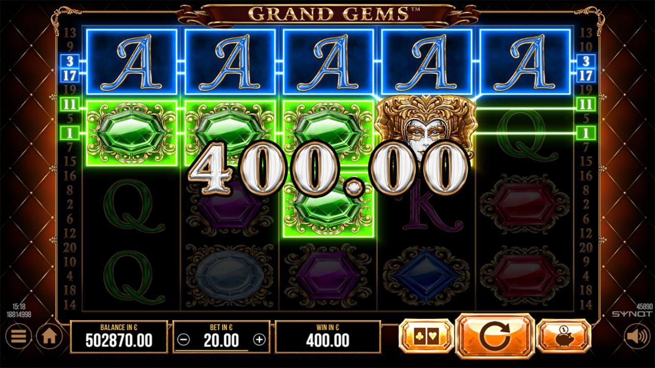 Grand Gems respins