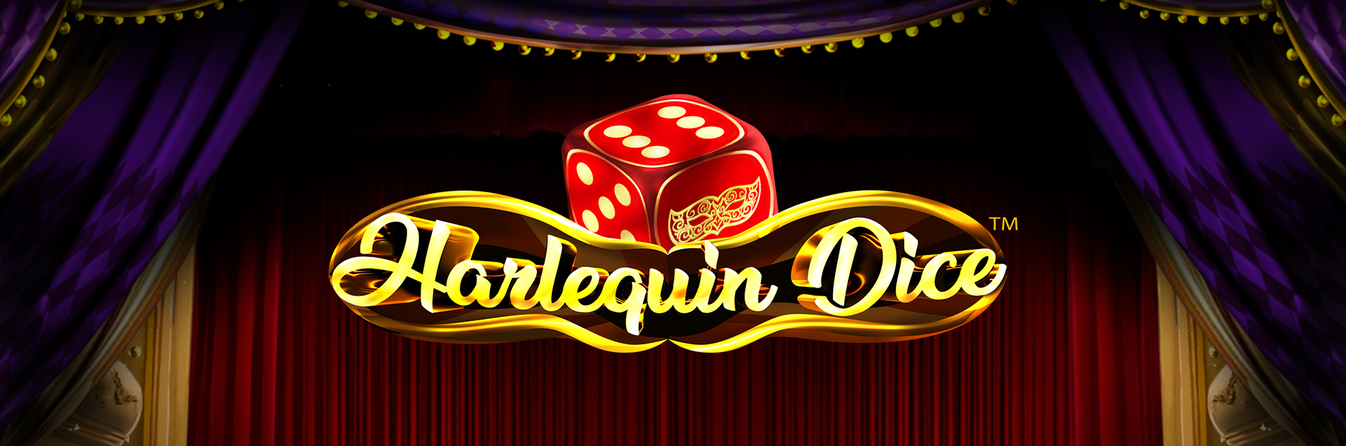 Harlequin Dice games banner