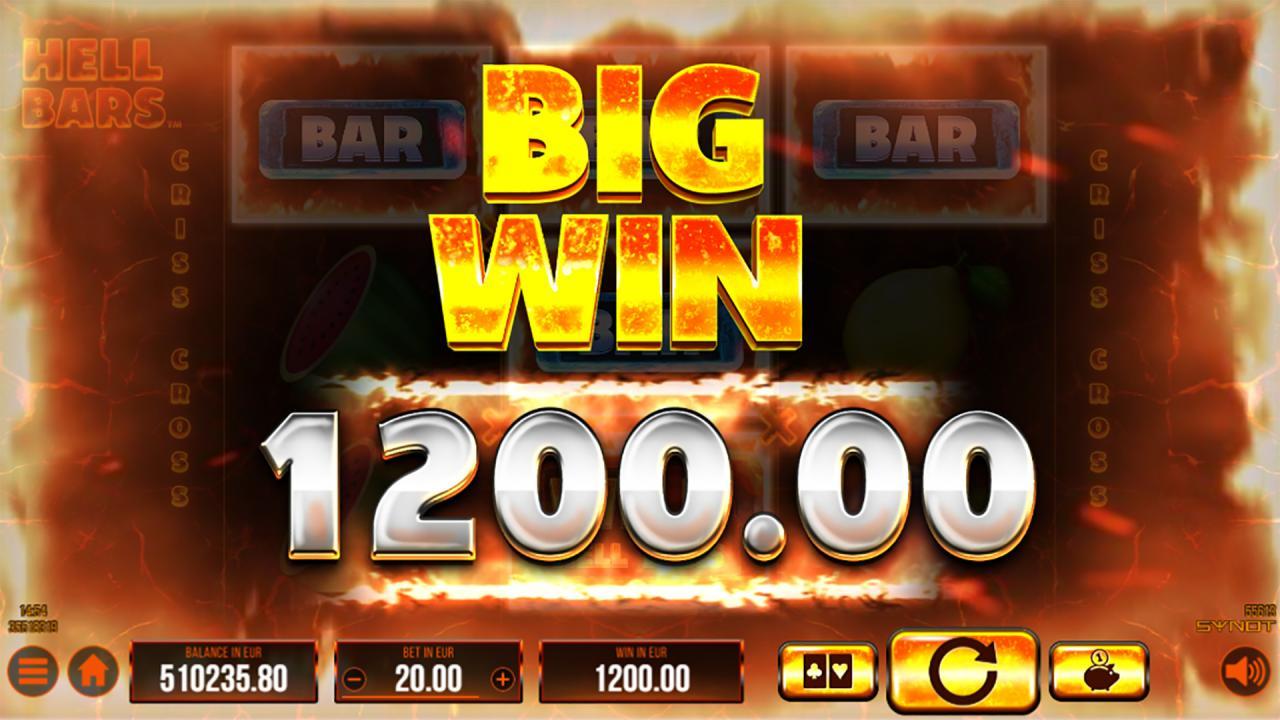 Hell Bars big win