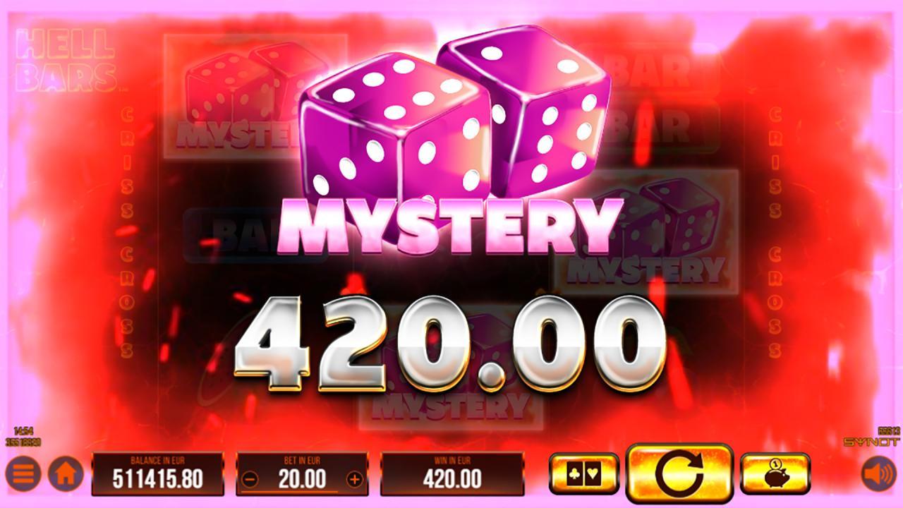 Hell Bars mystery win