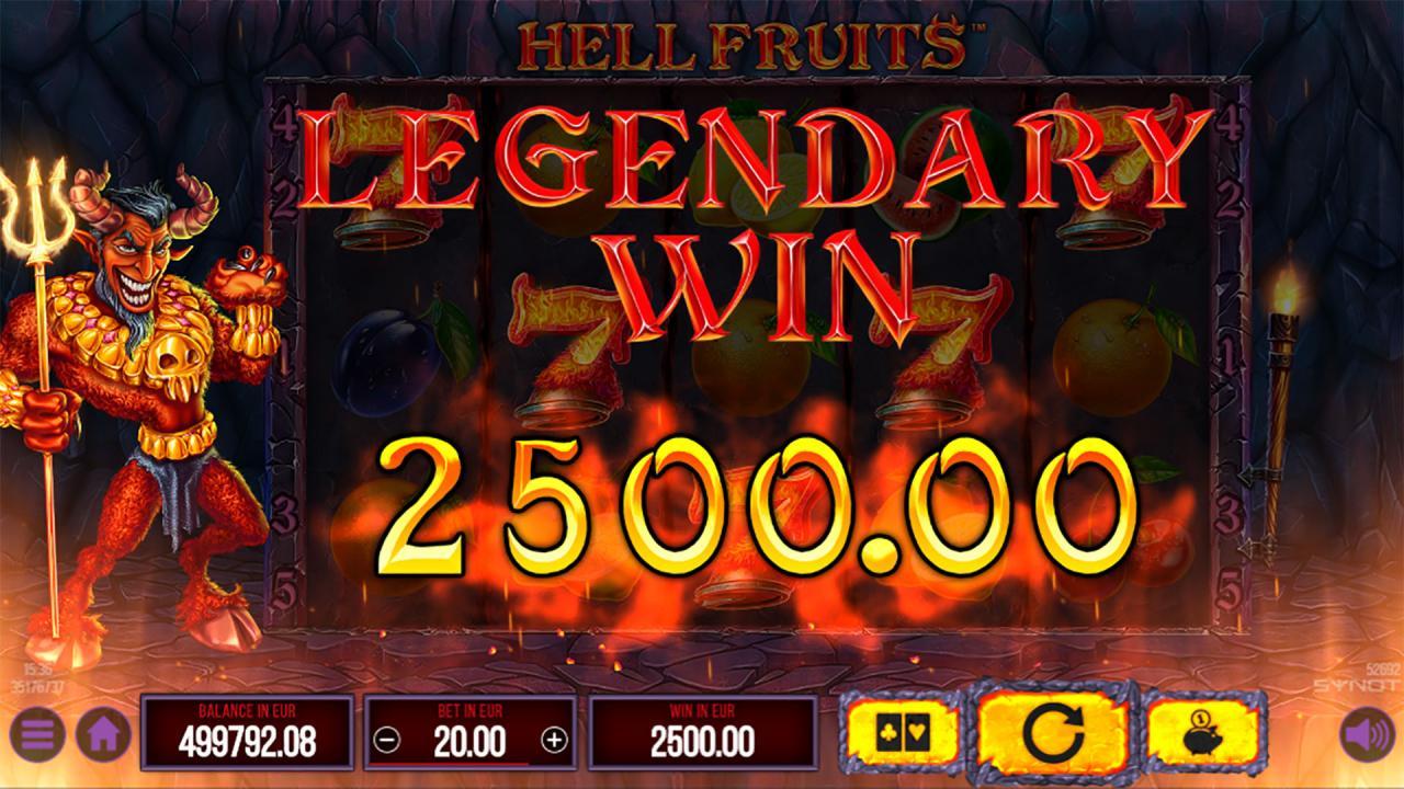 Hell Fruits legendary win