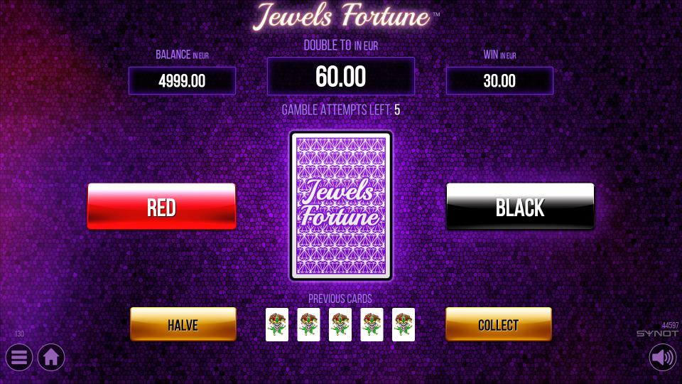 Jewels Fortune Gamble