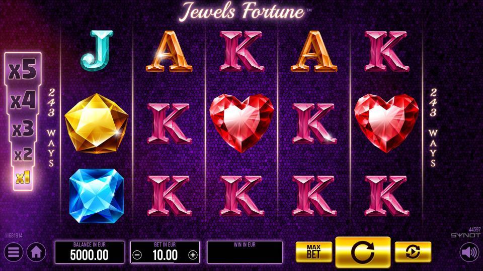 Jewels Fortune Reels