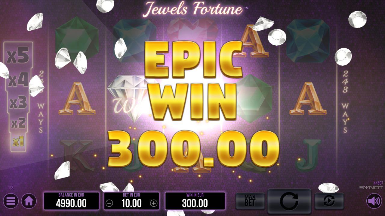 Jewels Fortune Epic Win