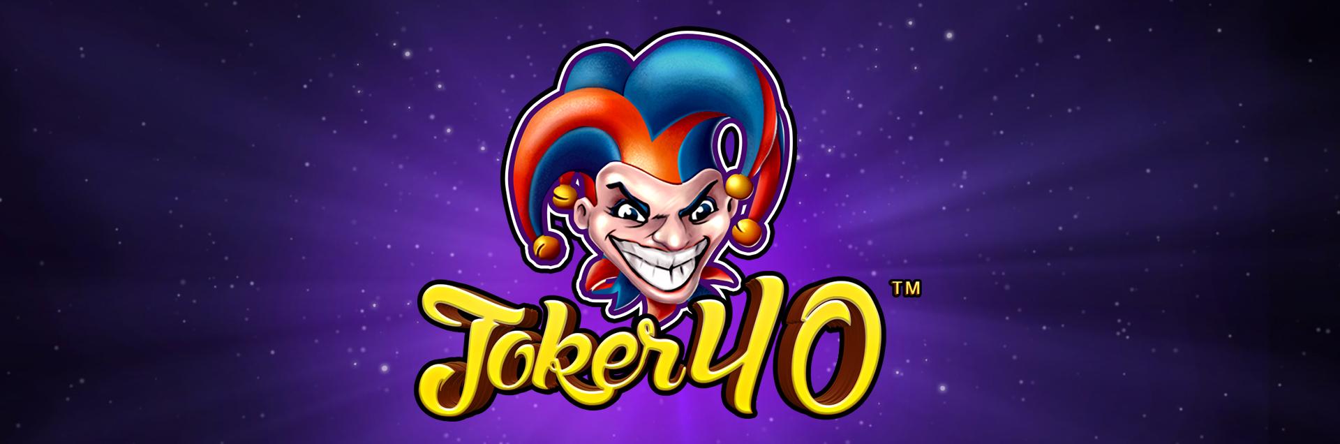 Joker40 Header image Games