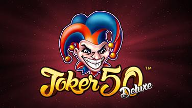 Joker 50 Deluxe listing games banner