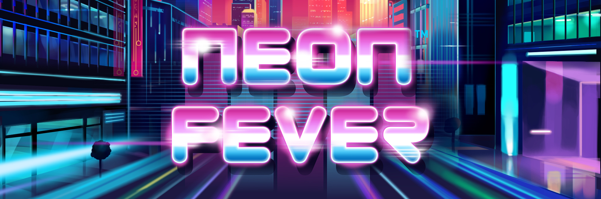 Neon Fever header homepage games