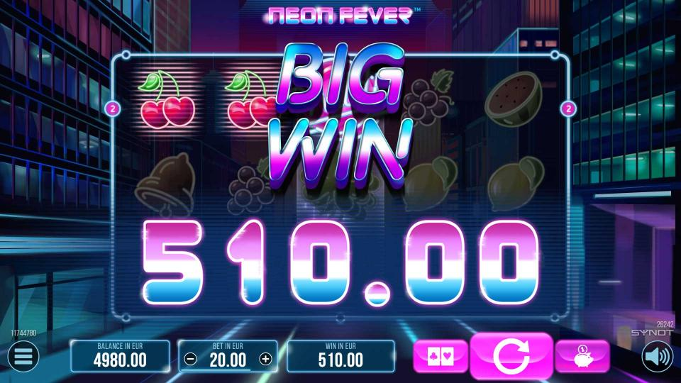 NeonFever Big Win