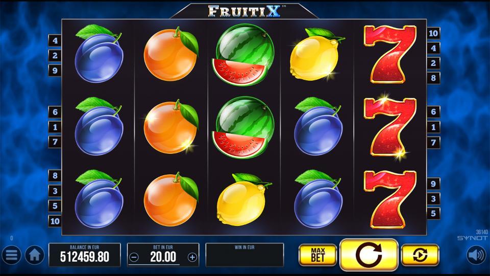 FruitiX reels
