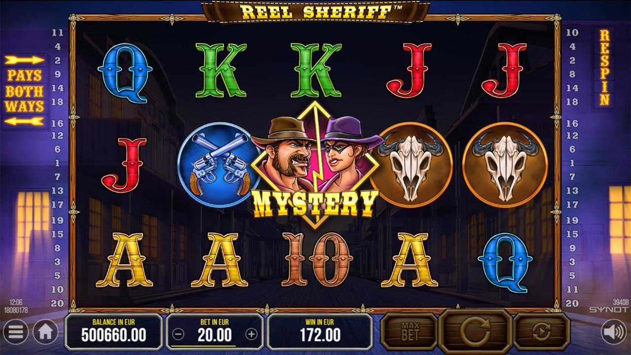 Reel Sheriff wild mystery