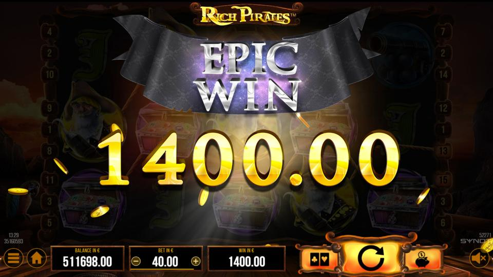 Rich Pirates Epic Win