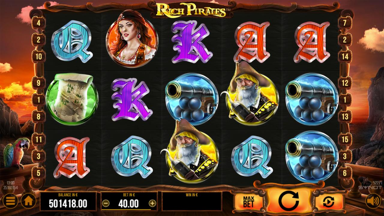 Rich Pirates Reels