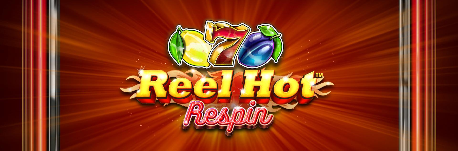 Reel Hot Respin Header games banner