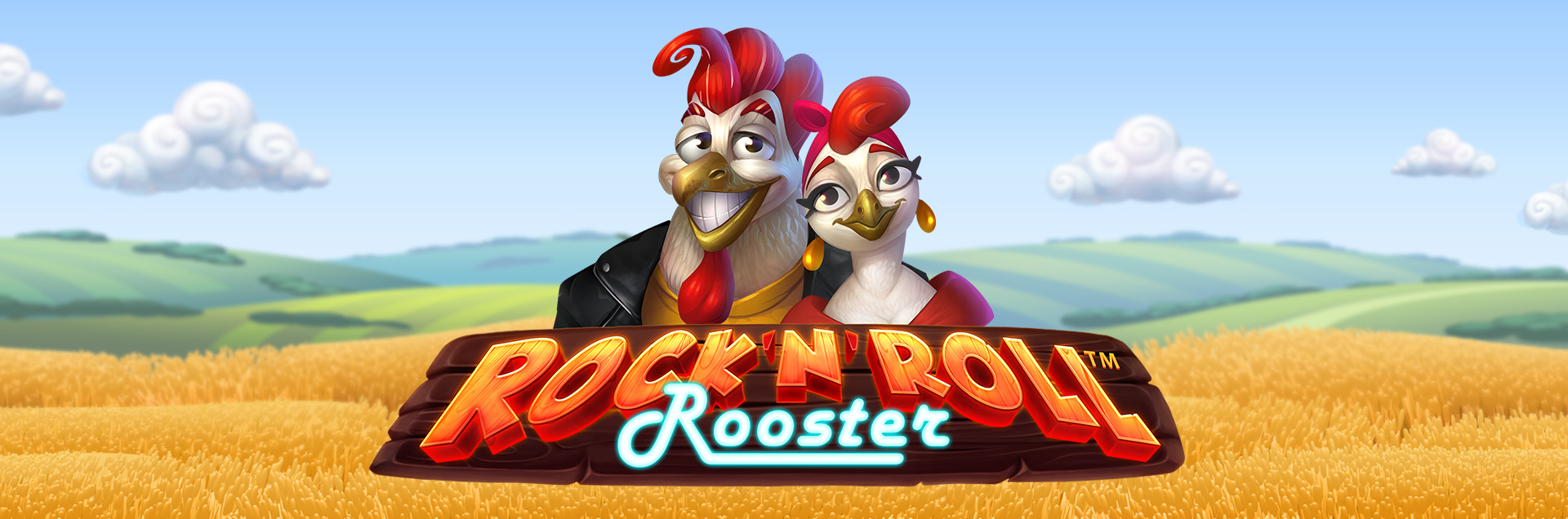Rock n Roll Rooster games header